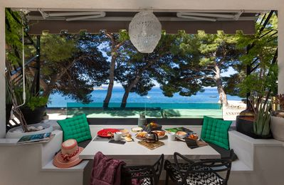 Photo for Boutique apartment Hedonist - on the BEACH! Makarska