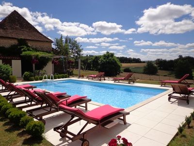 Photo for LE GRAND RÊVE Stunning Country House with pool perfect for families or groups