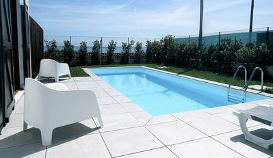 Photo for Villa with pool on Torreira beach, located next to the ria.