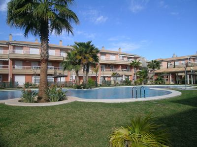 Photo for luxury apartment with communal pool at 5 min walk from the sea