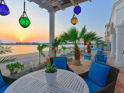 Photo for Sunset Point 4 BDR Private Villa Palm Jumeirah