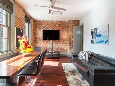 Photo for Amazing Condo with Balcony Steps from the French Quarter