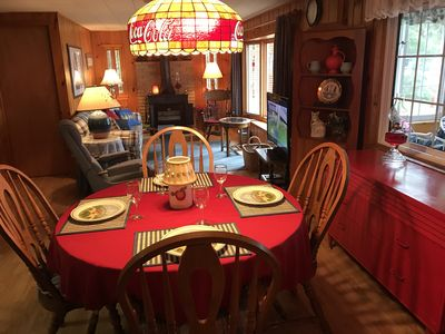 """Dinner at the """"cozy Cottage"""""""