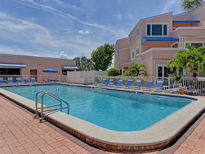 Photo for Unit #108 Sand Cay Beach Resort Pool and Garden View