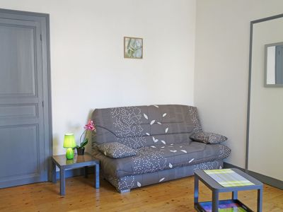 Photo for Nice apartment for 2 people with WIFI, TV, pets allowed and parking