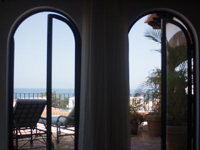 Photo for Casa de los Escritores Penthouse 2BD Condo for rent in Downtown, Puerto vallarta