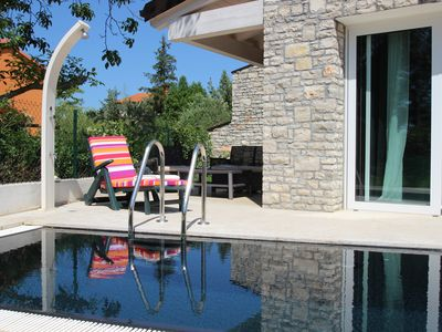 Photo for 2Modern Istrian Villas with each private pool, walking distance to the beach