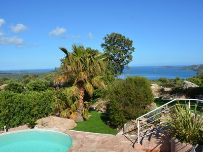 Photo for Beautiful air-conditioned villa with panoramic sea and mountain views private pool