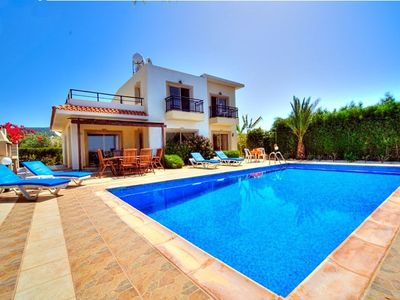 Photo for Villa Nayia - Free Wi-Fi, Sea Views, Large Private Pool, Built in BBQ