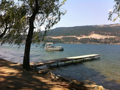 Photo for Vacation at Wood lake in the  Sunny Okanagan -Family friendly