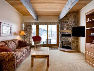 Photo for Cute Steamboat Studio Condo On Mountain With Great Views