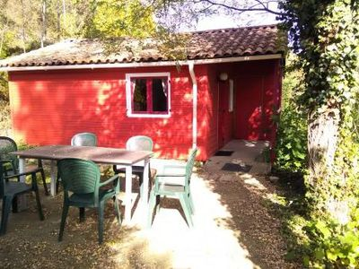 Photo for Camping Coeur d'Ardèche *** - Comfort Chalet 3 Rooms 4/6 People
