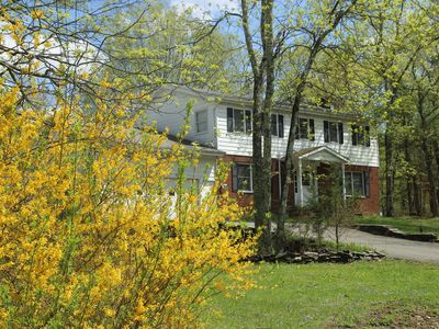 Photo for Its Spring in the Catskills!  Enjoy this beautiful 3 bed house in the country!