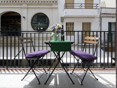 Photo for Sin Apartment with small terrace, equipped, located in the center of Sitges- Pet Friendly by GLOBALSITGES