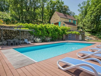 Photo for Lovely Mansion in Lavercantière with Private Swimming Pool