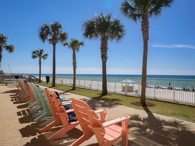 Photo for Beautiful Beachfront 2 Bedroom Condo near Pier Park, Restaurants, Waterpark