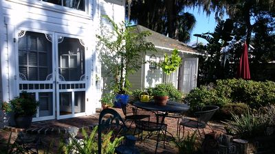 Photo for Charming, Historic Carriage House  Old Florida setting on Tampa Bay