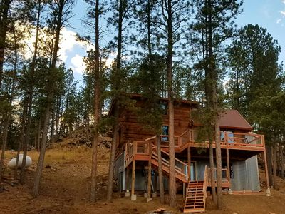 Photo for Hill City Cabin available for 2018 Sturgis Rally