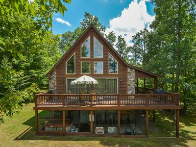 Photo for Timberwolf: Lake Access Home, 1 Mile from DCL State Park