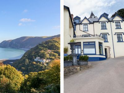 Photo for BAYVIEW TERRACE, family friendly in Lynton, Ref 1002331