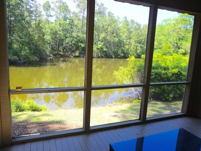 Photo for Exceptional Lagoon View – Cottage with Bonus Loft & Community Pool!