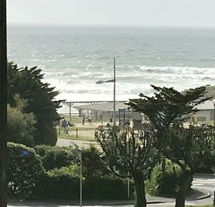 Photo for Duplex apartment Biarritz ocean view and pool
