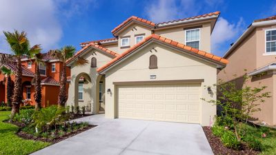 Photo for Beautiful spacious 6 bedroom pool villa at the Solterra Resort, close to Disney