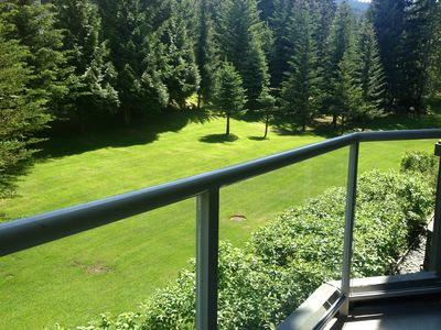 Photo for Best slopeside condo-ski in ski out. Quiet side of mountain with tree views!