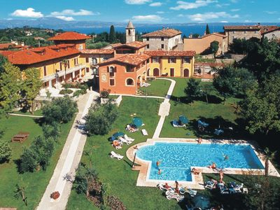 Photo for Manerba del Garda Apartment, Sleeps 6 with Pool, Air Con and Free WiFi