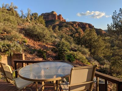 Photo for Cathedral Rock Secluded Getaway Home | 2 BR 2 BA + Jacuzzi | Perfect for a reset