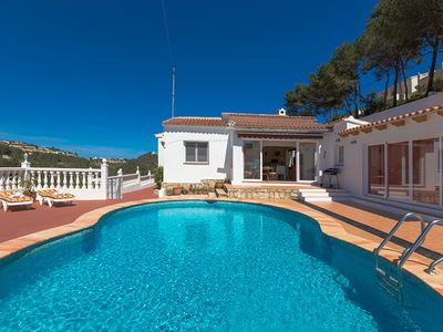 Photo for BERG, cozy villa with private pool in the hills of Benissa. free wifi