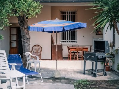 Photo for holiday home in Torre del Lago (LU), Versilia - garden - parking - 5+ bed