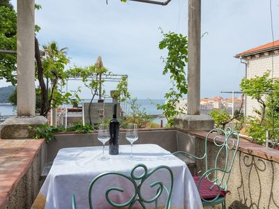 Photo for Apartment Mia with terrace and stunning view in Dubrovnik