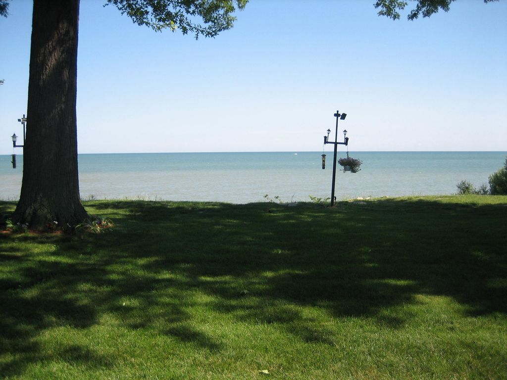 Lakefront Vermilion Lake Erie is our backyard!