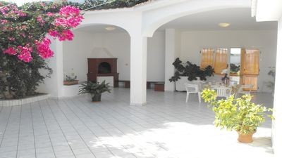 Photo for Book this villa with Wi-Fi, 3 Bedrooms, for Pets: Summer at the beach, in Puglia