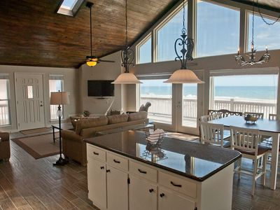 Photo for Beautifully Updated Beachfront Home