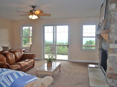 Photo for Beautiful Long Range Mountain Views, Minutes from Downtown Hendersonville, NC