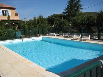 Photo for Villa with pool and private garden near St Tropez and Cote d'Azur