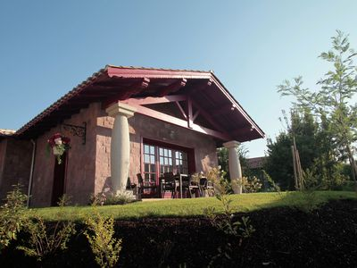 Photo for Beautiful villa in Basque style just 3 km. away from the sea