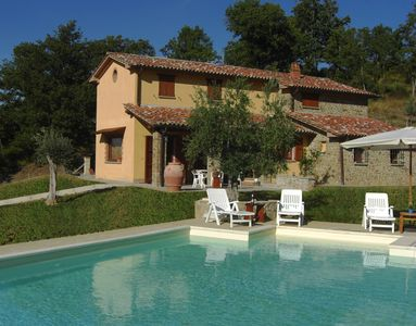 Photo for Holiday House Col di Fabbri 8 people, 4 bedrooms, private pool
