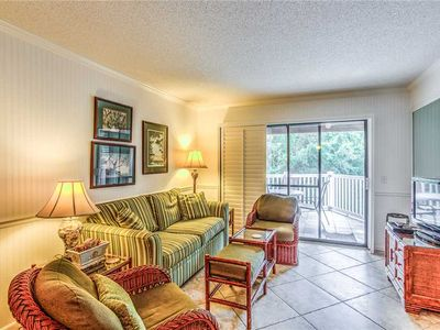 Photo for Bring Your Pet to The Beach! Oceanfront Condominium with  Pool and Boardwalk to Beach!