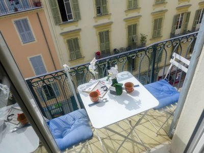 Photo for Apartment FONCET in Nice - 2 persons, 1 bedrooms
