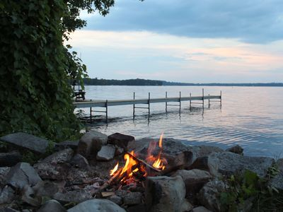 Photo for Nicely Renovated Cottage - Level Beach in a Quiet Setting- Great for Kids!