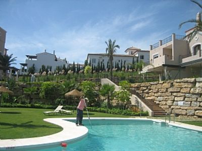 Photo for Luxurious and Sunny spacious holiday home  with pool at bottom of the garden.