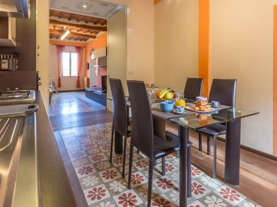Photo for modern loft in the historic center of Siena with wifi, TV
