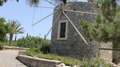 Photo for Villa in a traditional windmill on Crete