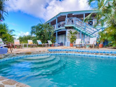 Photo for 1 FREE NIGHT, Ocean Views, Private,  Close to Mountain Trunk, AC, Generator