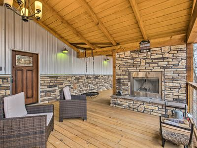 Photo for Upscale Cabin w/Hot Tub - Mins to Broken Bow Lake!