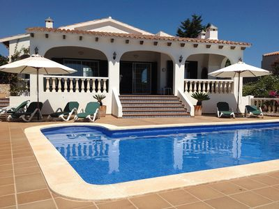 Photo for Beautiful 4 Bedroom Villa With Private Pool, Sea Views And Beautifully Manicured Gardens