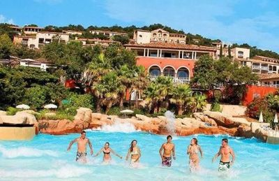 Photo for LARGE T2 VILLAGE CLUB RESTANQUES OF ST TROPEZ / SUPERB SEA VIEW / 2 SWIMMING POOLS